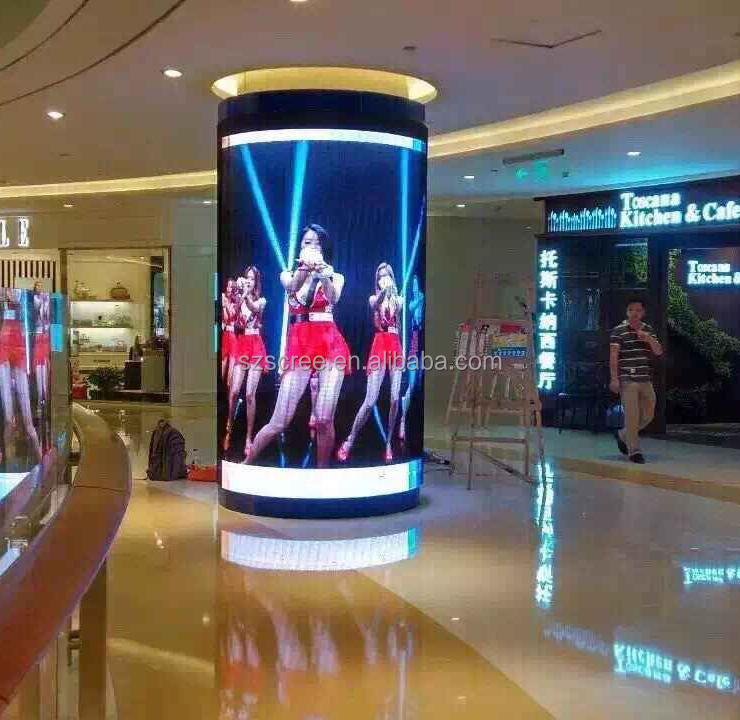 Shenzhen Full Color HD Indoor P5 Flexible LED Display <strong>Screen</strong>