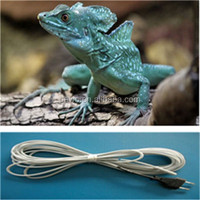 Easy to use Silicone Rubber Reptiles heating cable for animal