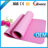 Antistatic beautiful multicolor custom nbr yoga mat with high quality