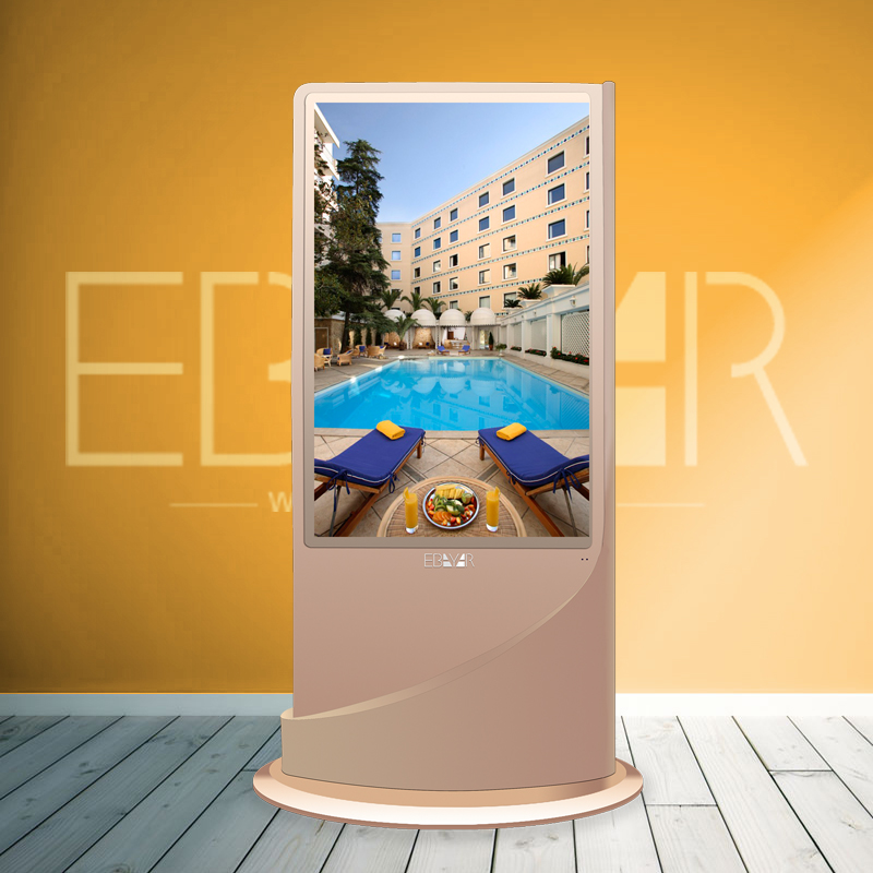 advertising lcd/led display digital signage kiosk rotate display