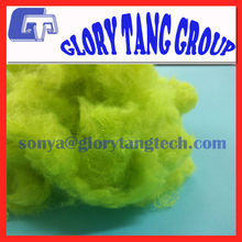 light green synthetic fiber for fake fur, 3DX32MM