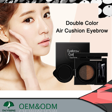 double color air cushion eyebrow waterproof eyebrow pencil