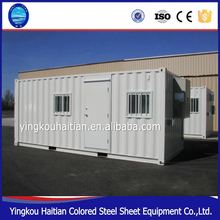 Fast install foldable container Prefabricated Beautiful Villa Steel Residential House