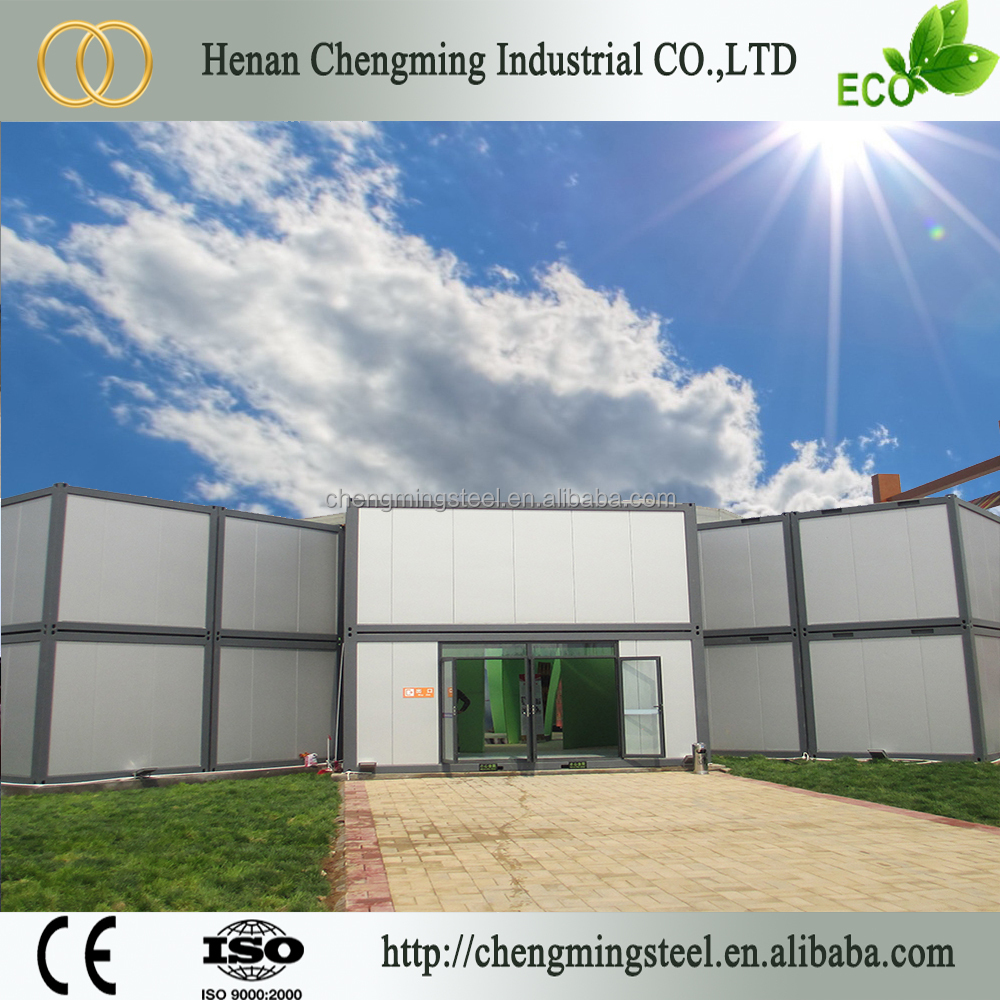 Sandwich Panel Anticorrosive Popular Lowest Cost House Prefabricated Homes