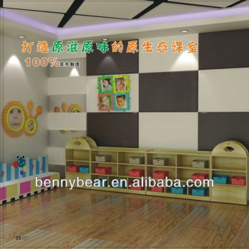 Wooden Nursery Furniture Toy Storage Shelves,Storage Cabinet Set