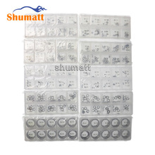 Common rail 1000 pieces kit fuel injector spare parts adjusting shim Bosch injector repair Gasket kit