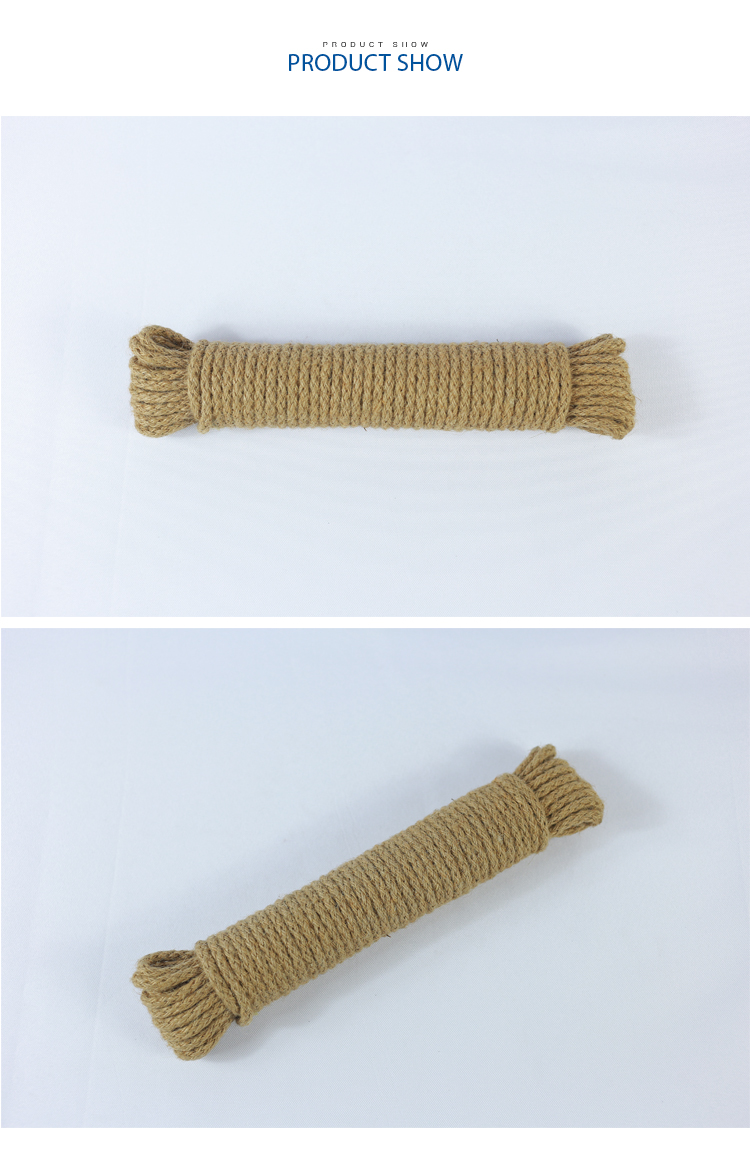 New abaca rope polyethylene rope