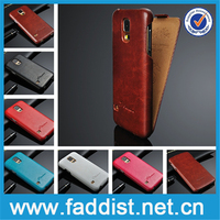 China Supplier New Leather Flip Cell Phone case for samsung galaxy s5 gt-19600