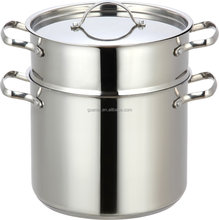 Best cooking cookware stainless steel large soup pots couscous pot