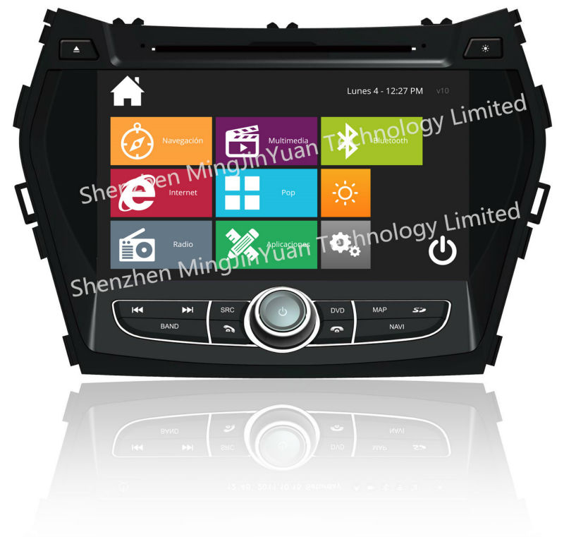In Dash CAR DVD for Hyundai IX45 Santa fe 2013
