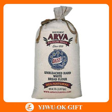 100% Cotton flour bag wholesale,flour packaging bag,flour bag/sack 25kg