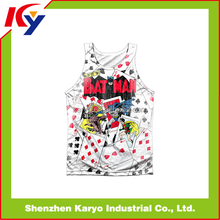 Womens Custom Printed Sublimated Dry Fit Wrestling Sports Yoga Workout Exercise Gym Singlets Wholesale