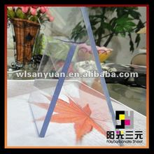 solid polycarbonate sheet,clear plastic window covers