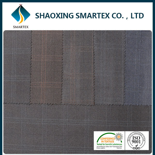 wholesale tr grey suit twill fabric for men summer coat
