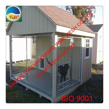hot sale high quality cheap chain link collapsible dog kennel