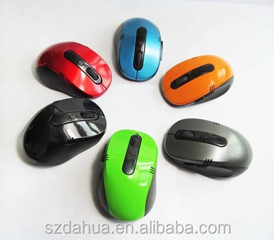 colorful 2.4G Wireless Mouse Ultrathin Mouse for Laptop,MAC,Window