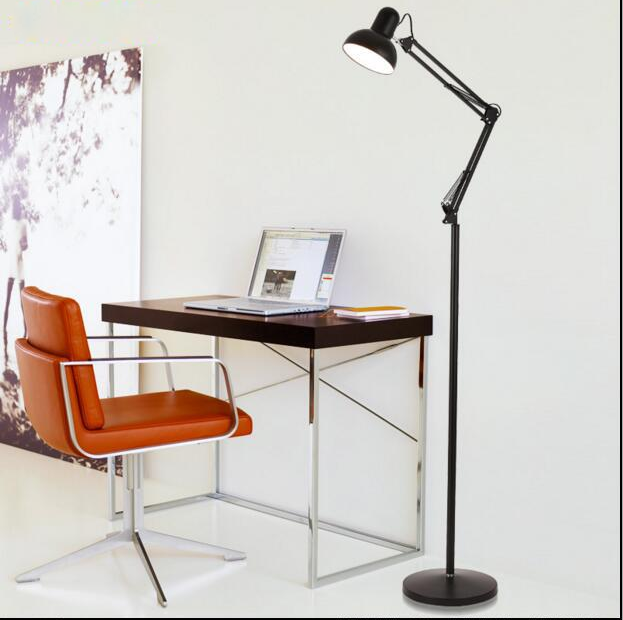 Modern design stand floor lamp with high quality for family and hotel decoration lighting, wrought iron temperature Adjustable