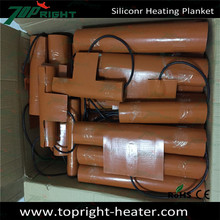 Customized silicone oil heating CE certification ,Professional custom all kinds of silicone rubber heater