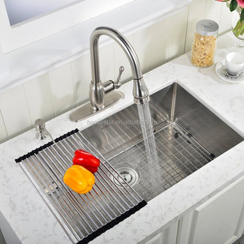 professional handmade kitchen sink supplier noa3018 1618 gauge custom size undermount single. beautiful ideas. Home Design Ideas