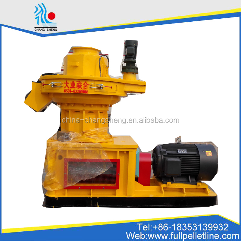 YANL 1 ton per hour Biomass Rubber Wood Timber Pellet Mill Line