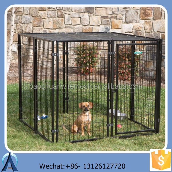 steel indoor dog fencing