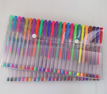 Vibrant Color Scented Metallic Giltter Gel Ink Pens for coloring book