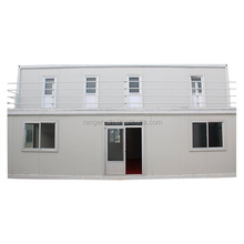 Two-story high quality folding portable prefabricated container houses with roof china supplier