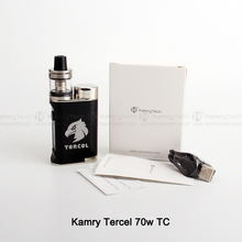 Factory direct product voltage adjustable 18650 battery kamry Tercel 70W TC max vaporizer pen