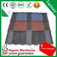 Metal galvalume sheet/Guangzhou steel roofing material stone coated metal roof tiles