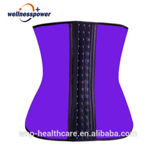Slimming women's full body shaper neoprene/latex waist trainer corset plus size