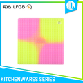 Colorful FDA & LFGB eco-friendly cheap silicone baby placemat