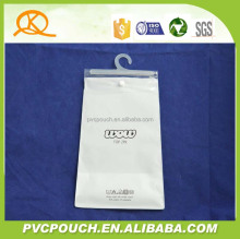 Customized EVA PVC clear bio-degradable plastic bags
