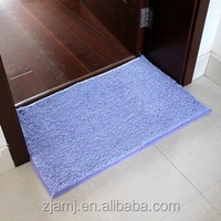chenille absorb water bathroom shower mat