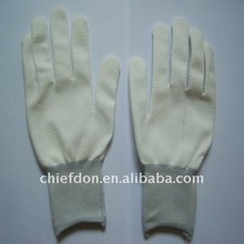 nylon gloves with pvc dots working gloves