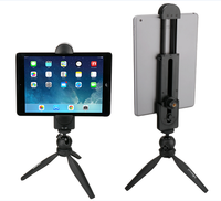 "Ulanzi Universal Tablet PC Pad Bracket Pad Tripod Mount Adapeter clamp with 1/4"" screw for iPhone Mobile Android Smartphone"