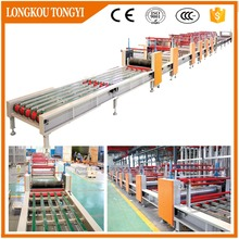 Hot full automatic mgo board production line/magnesium oxide board production completed plant