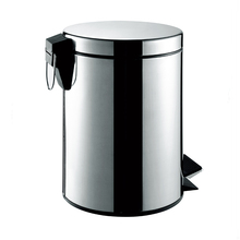 Dustbin Fancy Dress Stainless Steel Recycling Trash Cans 7012