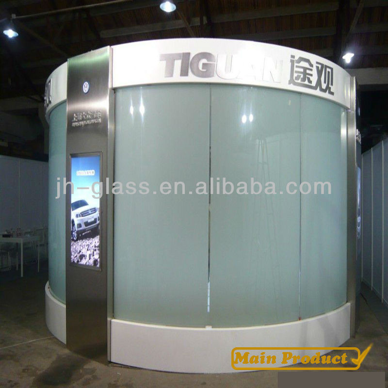 KAHO Hot! Magic frosted glass curtain walls