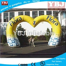 Attractive outdoor advertising inflatable event led inflatable arch