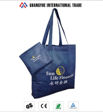 Guangyue Wholesale Foldable Reusable Non-Woven Fabric Tote Shopping Bag