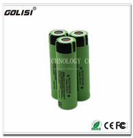 Authentic new Panasonic NCR18650B 3400mah3.7v rechargeable Li-ion battery cell hot sale
