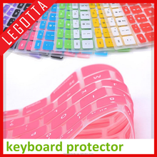Eco-friendly best quality silicone flexible keyboard protector for laptops