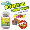 90pcs pectin multivitamin gummy bear candy
