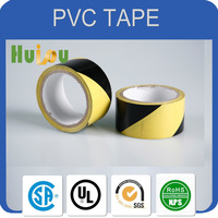yellow floor marking tape / yellow pvc electric tape