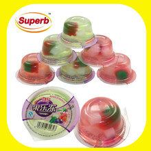 jelly cup,nata de coco,fruit jelly