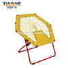 Kids Impact Canopy bungee chair web moon chair soft indoor furniture leisure chair