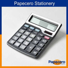 Papecero New Office Supply 12 Digits Solar and Electric Calculator