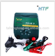 Energy saving solar electric fencing energizer controller for livestock
