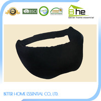 Black Memory Foam Luxury Sleep 3D Eye Mask