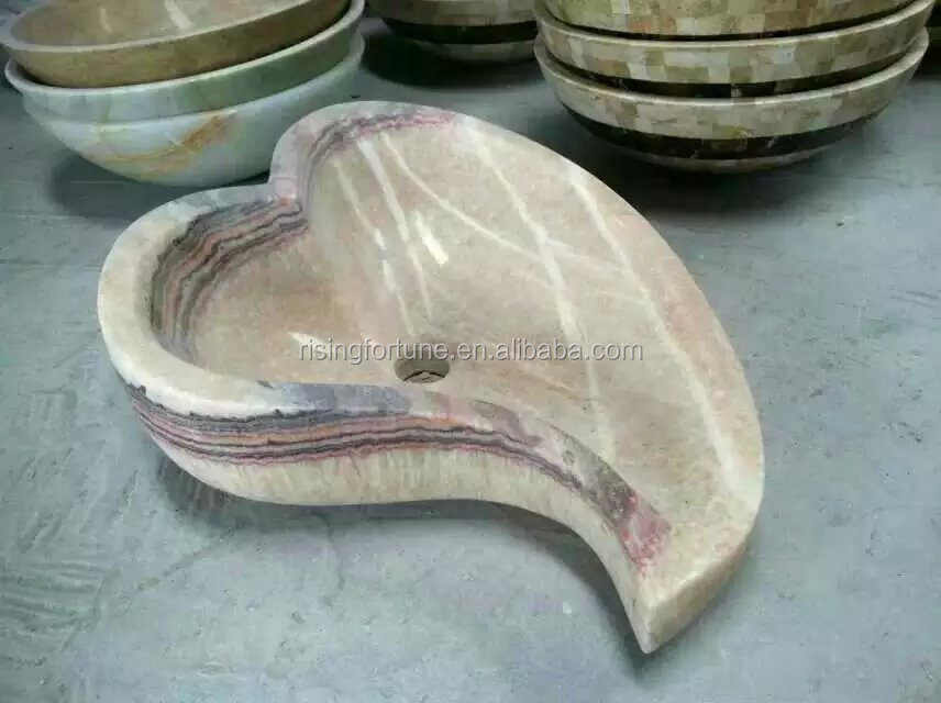 leaf shaped wash basin